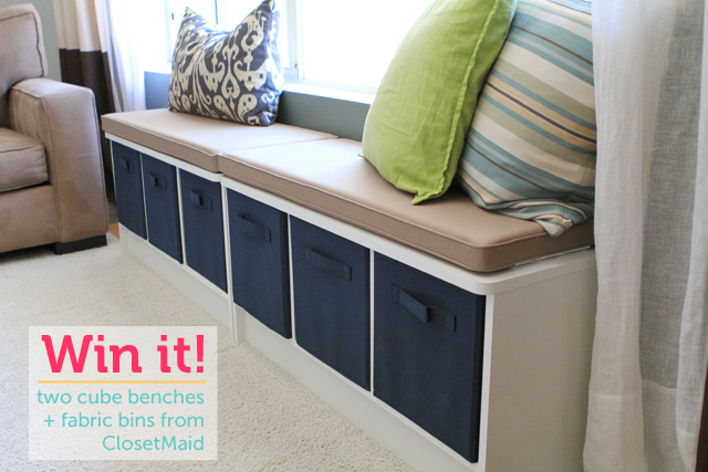 Giveaway Storage Furniture From Closetmaid Modern Parents Messy Kids