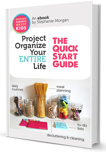 Announcing the Project Organize Your ENTIRE Life eBook!