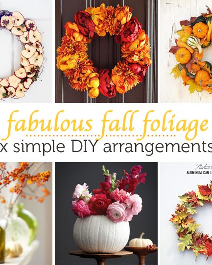 DIY Autumn Arrangements