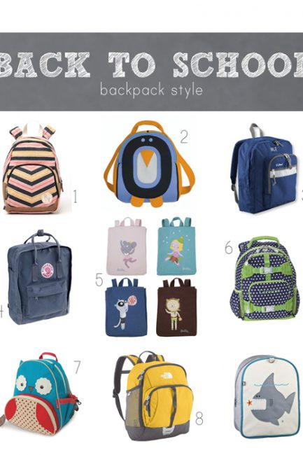 Back-to-School Fresh Finds: Backpacks