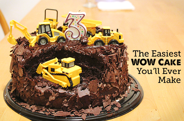 Best DIY Birthday Cake Ever - Modern Parents Messy Kids
