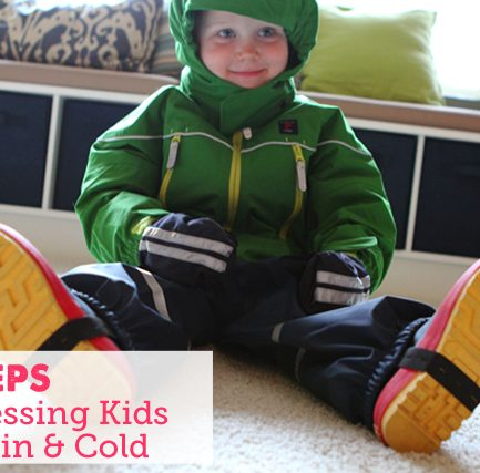 Outdoor Preschool: How to Dress for Hours of Rain & Cold