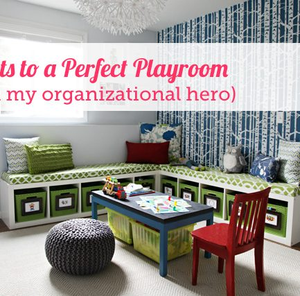 12 Fail-Proof Steps to Playroom Perfection