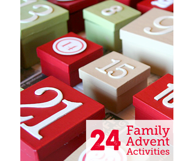 Our Advent Activity List Modern Parents Messy Kids