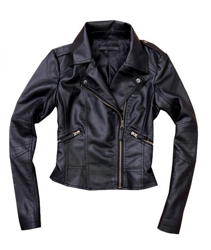 what to wear for fall - faux leather moto jackets