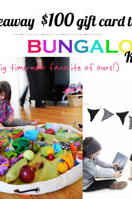 Giveaway: $100 for Decor & Toys at Bungalow Kids