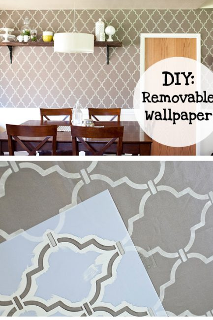 How to Make Removable Wall Paper