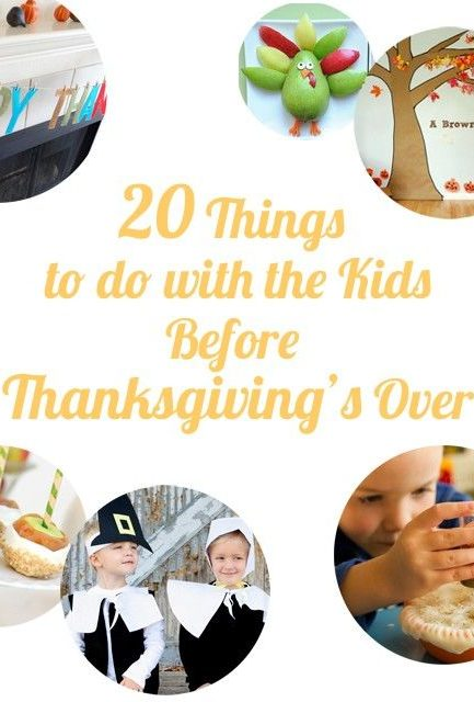 So many great ideas for making memories with the kids between Halloween and Christmas.