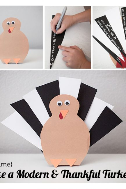 DIY Gratitude Turkey