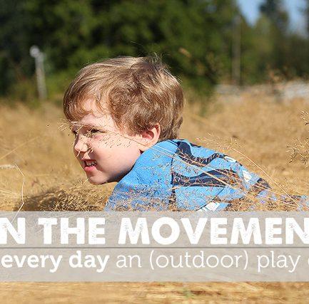 One Week Outdoor Play Challenge