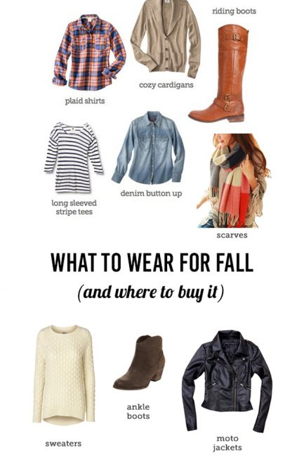 What to Wear this Fall (& Winter)