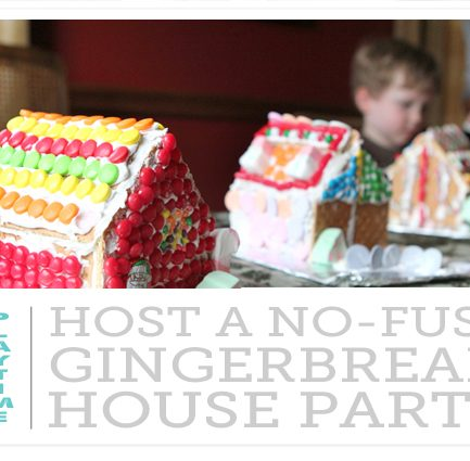 Two Tips for Easy, No-Bake Gingerbread Houses