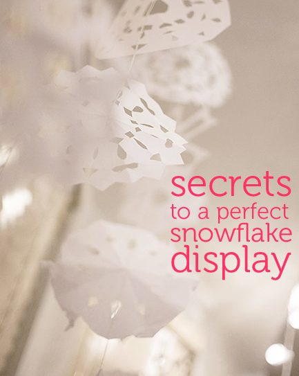 Classic Christmas Craft: Falling Snowflakes