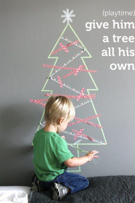 Make It: Washi Tape Tree