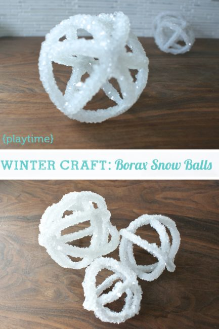 Make It: Pretty Science Snow Balls