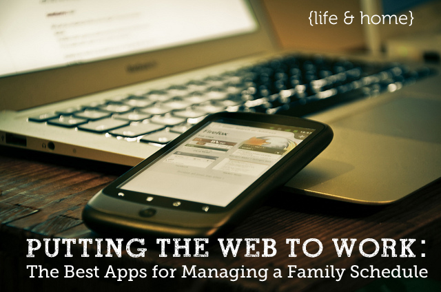 Your Entire Family S Schedule All In One Place