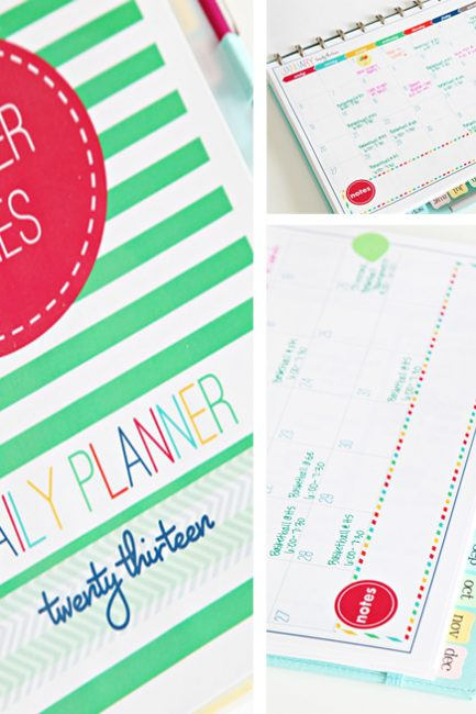 Win It! Personalized Planner Printables for 2013