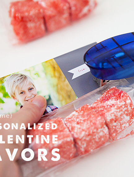 DIY: Photo Valentine Favors