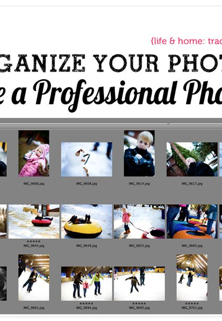 How to Store Your Digital Photos Like the Pros Do