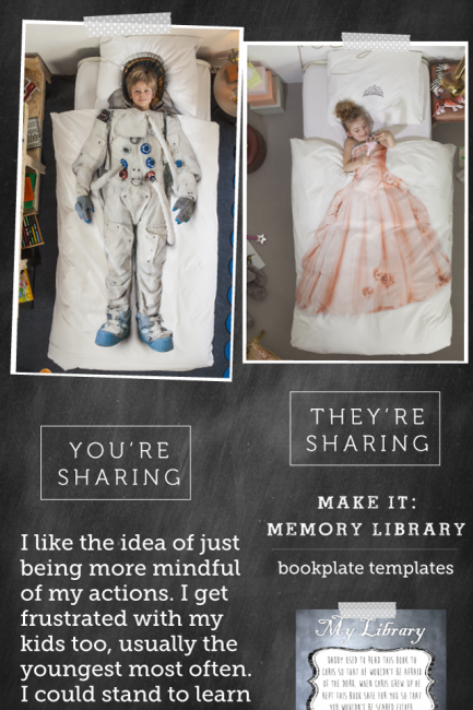 Friday Share: Make a Memory Library