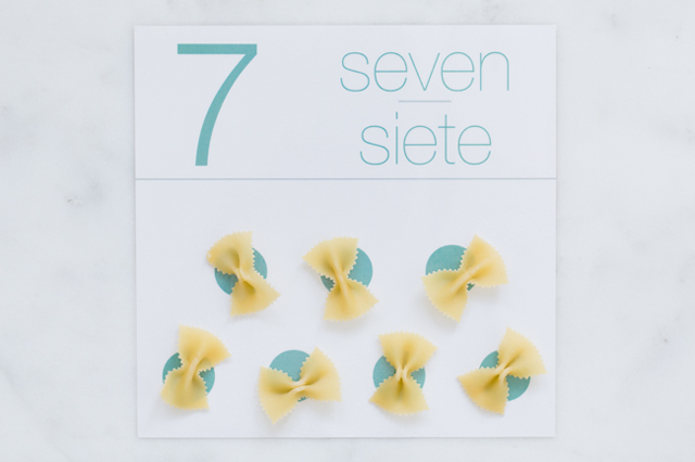 Homemade Learning: Printable Counting Cards - Modern Parents Messy ...