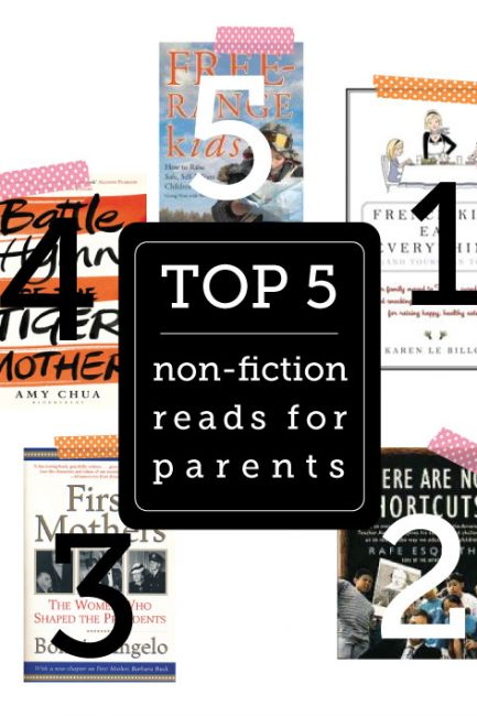 Five Parenting Reads Worth Your Precious Time