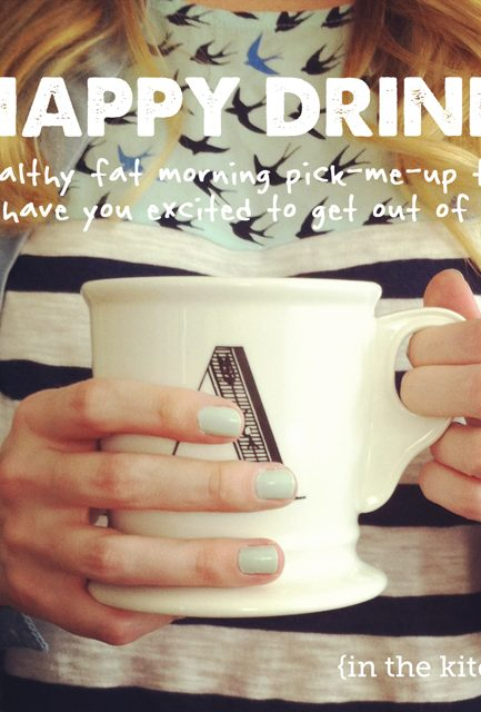 """Start Your Day Saying, """"Hello, Happy Drink!"""""""