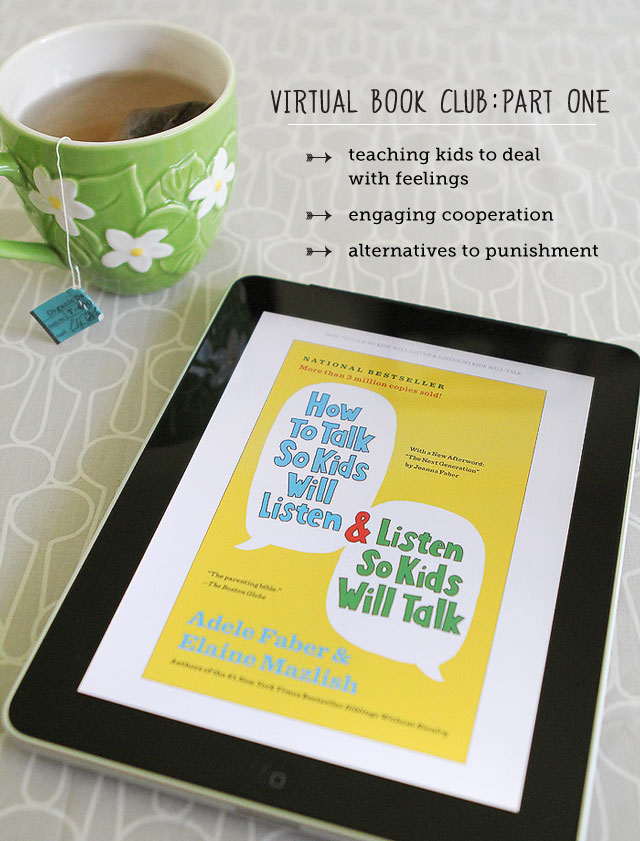 "Virtual Book Club: ""How to Talk So Kids Will Listen..."""