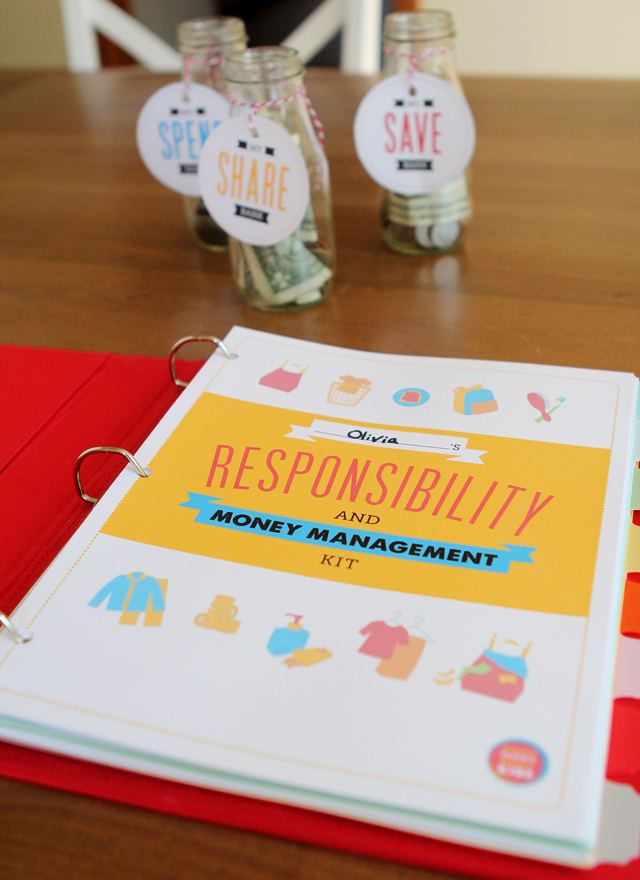 Printables Pack: Kids' Responsibility & Money Management Pack