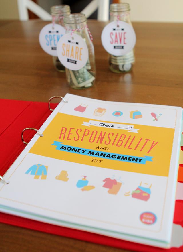 Printables Pack: Kids' Responsibility & Money Management Pack