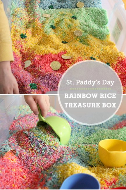 Make It: St. Patrick's Day Rainbow Treasure Box
