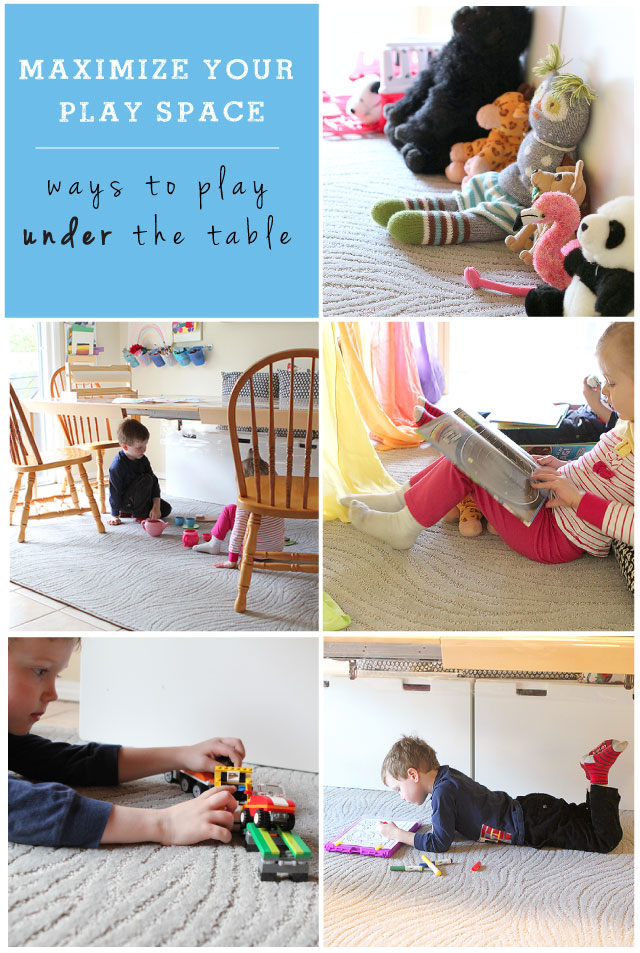 Ways to play under the table