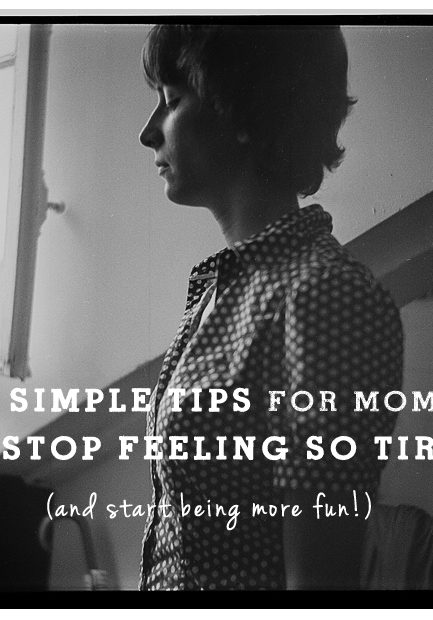 Easy Ways to Stop Feeling so Tired!