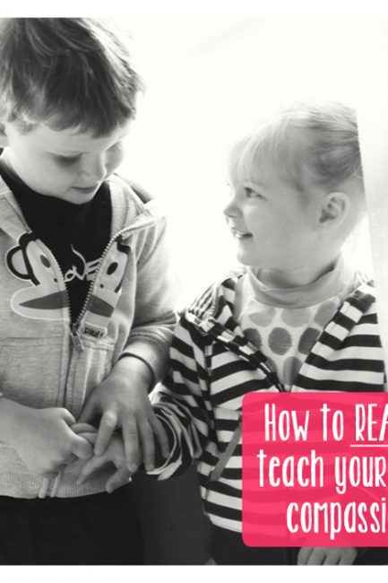 MidWeek Musing: How to Instill (and Not Just Hope for) Compassion in Our Kids
