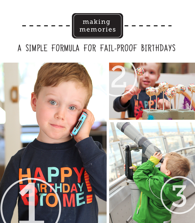 Great ideas on how to make every birthday special (without the big price tag)