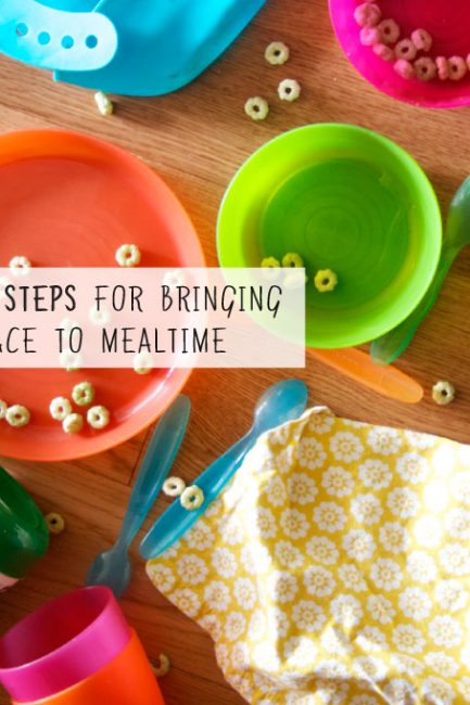 10 Steps Toward More Peaceful Family Meals
