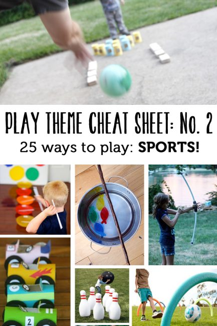 Playtime Cheat Sheet No. 2: Sports