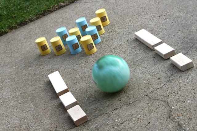 Playtime Cheat Sheet: Tin Can Bowling