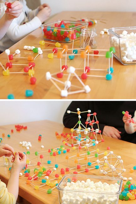 STEM Activity: Gum Drop Engineering