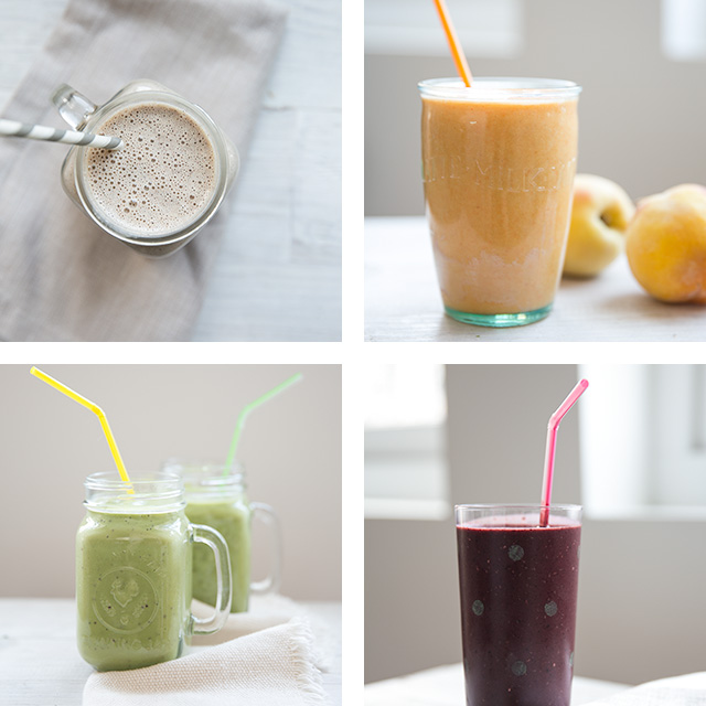 4 delicious + healthy smoothie recipes for moms + kids - an incredible amount of info. here on what makes these smoothies so good for you