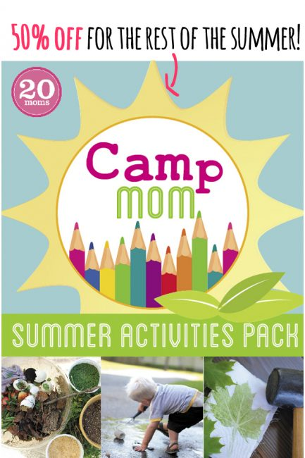 Camp Mom: Summer Activities Pack – End of Summer 50% Off Sale!