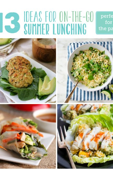Fresh Ideas for Summer Lunching