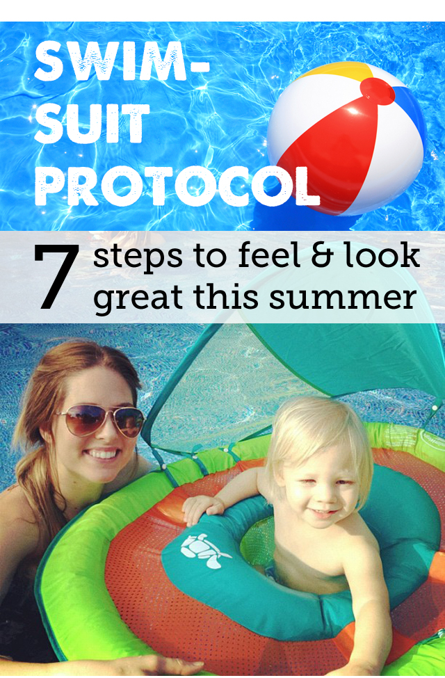 7 steps to feeling and looking better all summer - printing and putting on the fridge!