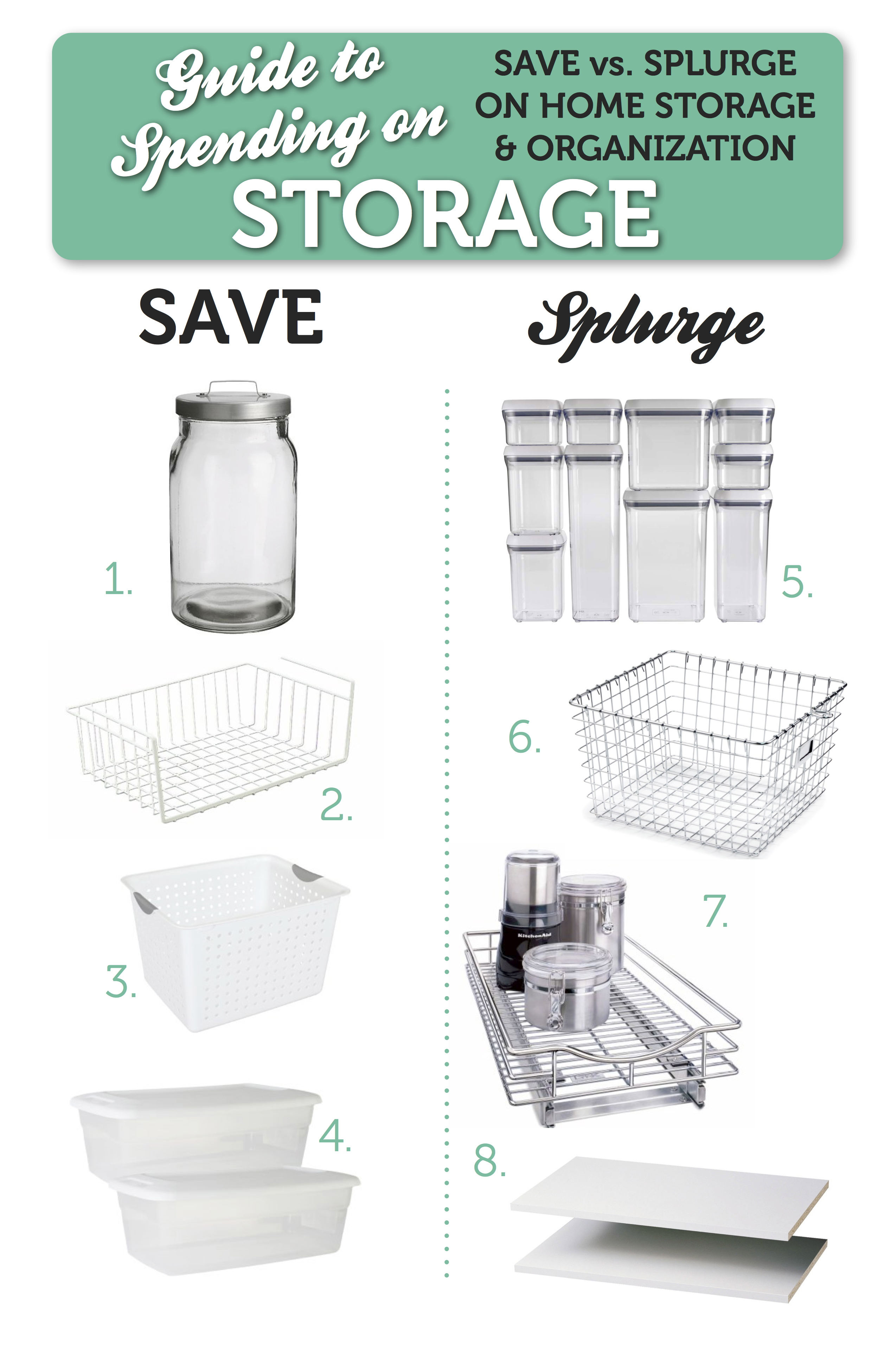 Guide to Buying Storage Containers