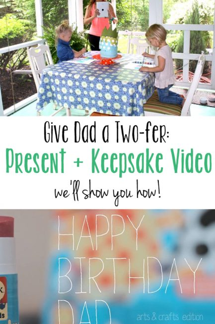 Getting Crafty And Recording It – A Father's Day Gift Idea
