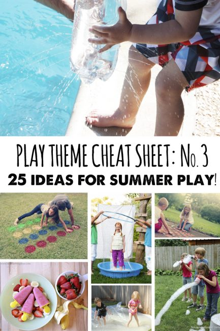Playtime Cheat Sheet No. 3: Warm Weather Play