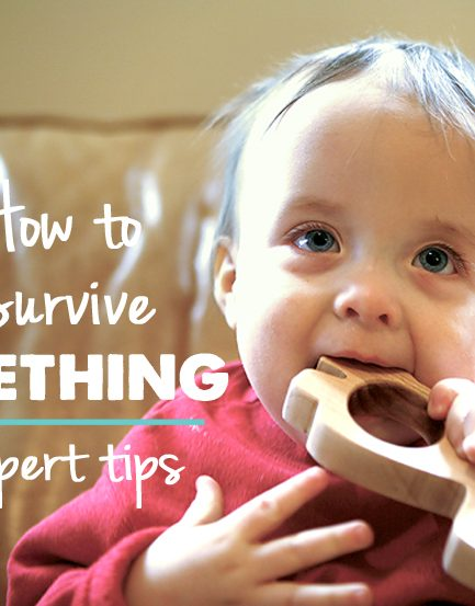 Essential Teething Tips + Etsy Toy Shop Giveaway!