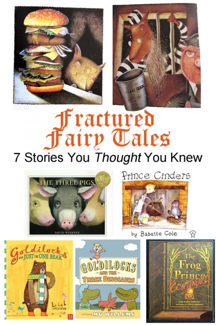 Fractured Fairy Tales: 7 Stories You Thought You Knew