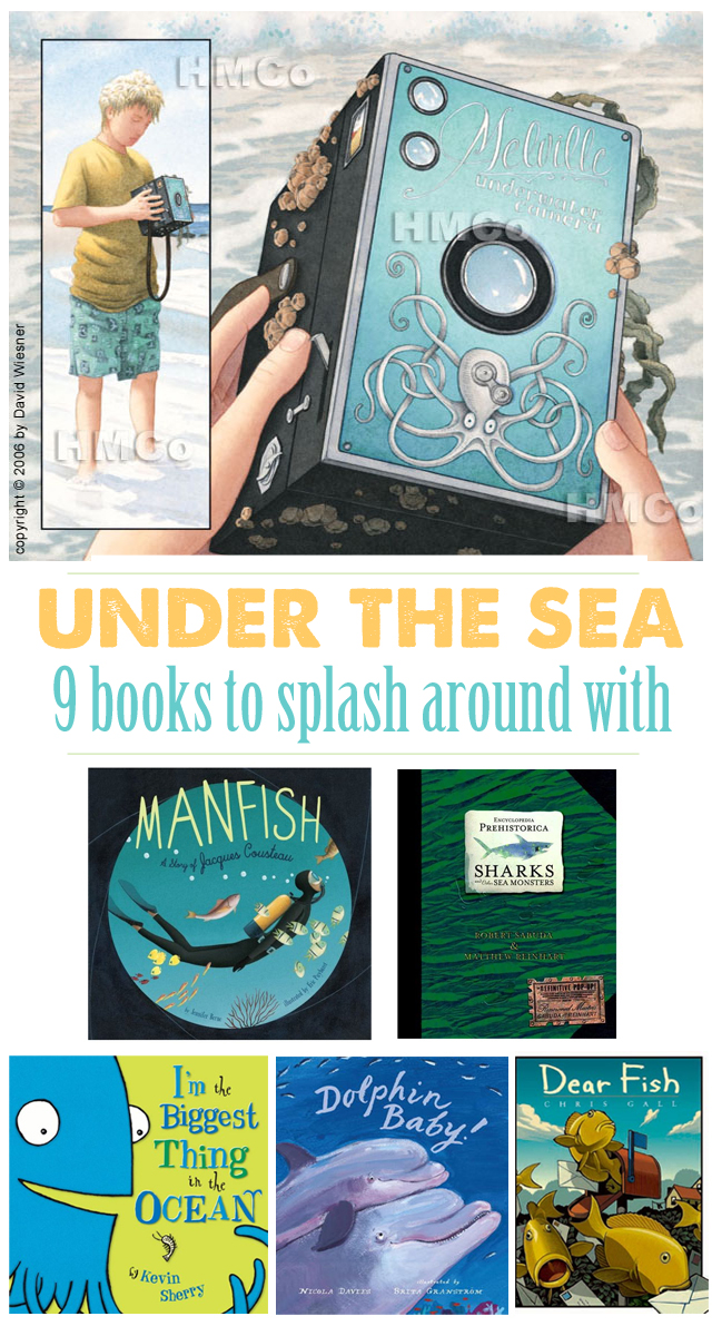 9 fun under-the-sea kid books