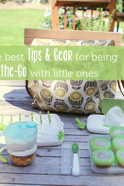 The Best Gear and Ideas for Being On-the-Go with Kiddos (plus a Giveaway)